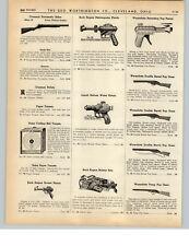 1938 PAPER AD Buck Rogers Rocket Pistol Disintegrator Liquid Helium Holster Set