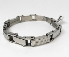Chain Style Stainless Steel Man's Bracelet