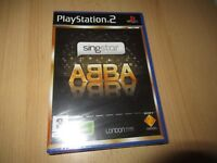 PS2 SingStar ABBA  UK Pal, New & Sony Factory Sealed