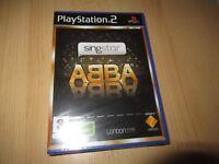 PS2 Singstar Abba Pal Reino Unido, Nuevo & Sony Precinto de Fábrica