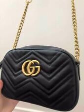 Women Handbag GucciBag chain messenger crossbody purse shoulder Bag Black