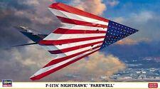 "Hasegawa 02011 - 1/72 Lockheed F-117A Nighthawk "" Farewell "" - New"