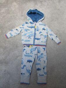 Cath Kidston boys 1-2 years Dinosaur tracksuit hoody hooded jacket trousers set