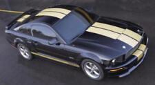 "Ford Mustang Shelby Hertz GT-H  Dual 9"" Gold Matching Stripe Kit, Bumper/Bumper"