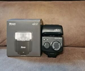 Nissin i400 Flash for Sony System Cameras