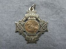 Irish Silver Fob / Medal -- Kildare -- 1957 -- Hop Skip & Jump