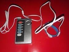 TENS EMS e-Stim set con unità di controllo multifunzione e anello di gomma ELECTRO, Regno Unito!
