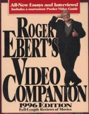 Roger Ebert's Video Companion, 1996 Edition : Full Length Reviews of Movies...