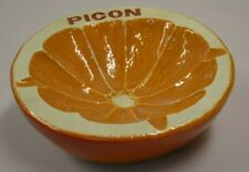 cendrier PICON  en forme d'orange
