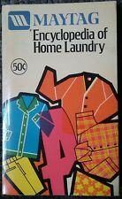 Maytag Encyclopedia Of Home Laundry Vintage Appliance Reference DIY OOP Rare!