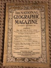 National Geographic 1917 double issue - World War I