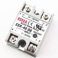 1Pcs Solid State Relay Module 3-32V DC Input 24-380VAC SSR-40DA 40A