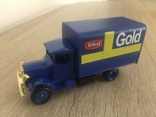 Lledo St Ivel Cheese Gold Mack Canvas Back Truck