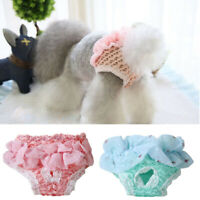Pet Sanitary Pants Washable Small Dog Physiological Pants Diaper Panties Female