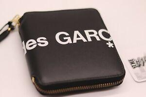 Comme Des Garcons Huge Logo Wallet | Black | Leather | Unisex | CDG Big Coins