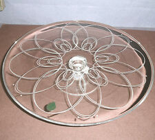 "Waterford BALLET ICING Cake Plate Footed 12"" Crystal Etched Spiral Germany New"