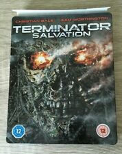 Terminator Salvation Play Exclusive Steelbook BLU-RAY DIRECTOR'S CUT FILM