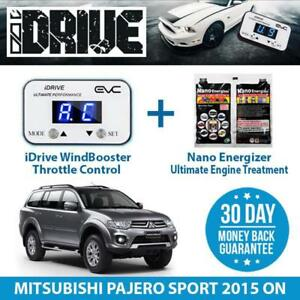 IDRIVE THROTTLE CONTROL FOR MITSUBISHI PAJERO SPORT 2015 ON + NANO ENERGIZER AIO