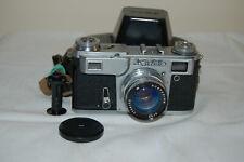 Kiev-4A (Type 4) Vintage 1980 Soviet Rangefinder Camera, Case. 8022662. UK Sale
