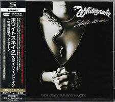 WHITESNAKE SLIDE IT IN JAPAN 2019 35th ANNIVERSARY RMST SHM CD BRAND NEW CLASSIC
