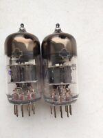 NOS USSR Military radiotub Reflector 6N23P-EV E88CC Original Box 6DJ8 Tube