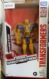Transformers Netflix War for Cybertron CHEETOR (Deluxe Class)