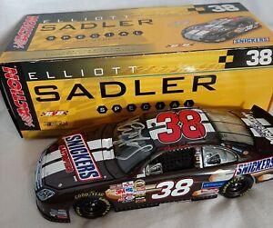 Autographed 2006 Elliott Sadler Snickers Brickyard 400 1/24 Diecast NASCAR Yates