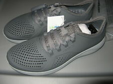 Crocs LiteRide Pacer Men's Casual Walking Shoes Sneakers Charcoal Medium Gray