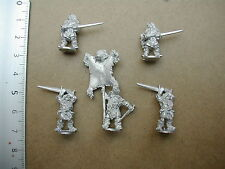 4510 GHOST BEARS HQ 6 FIG 15MM/WARLORDS OF THAIN/BARBARE/BARBARIAN/DEMONWORLD