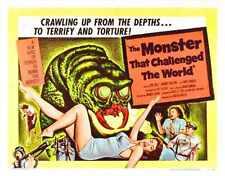 Monstruo que impugnó el mundo Poster 03 A4 10x8 impresión fotográfica