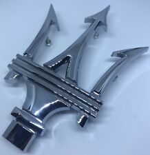 Maserati Ghibli Quattroporte Front Emblems Hood Grille Badge # 67224700/89095900