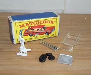 Matchbox 42 Studebaker Estate Station Wagon Hunter Dog Reproduction Spare Parts