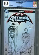 Batman and Robin #1  (Quitely Sketch)  CGC 9.8  WP