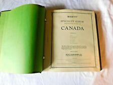 Vintage Scott Collector Album CANADA STAMPS Binder Book Collection  700 stamps!!