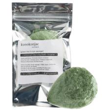 Green Tea Konjac Sponge Cleanse Face Exfoliate Combination Skin Care