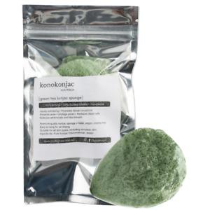 Green Tea Konjac Sponge Exfoliate Face Cleanse Combination Skin Care