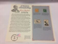 President James Garfield 4 Stamps, 1927-1986 Mint Commemorative - Free Shipping
