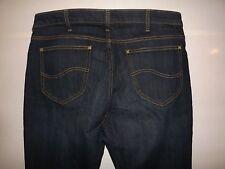 "Lee Slim Straight Fit Jeans W36"" L34"" (originale) 805"