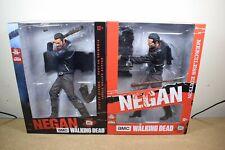 """McFarlane The Walking Dead 10"""" Deluxe NEGAN Normal & Merciless Action Figures"""