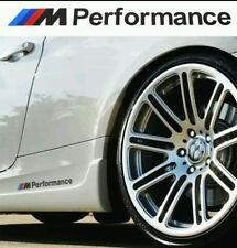Le prestazioni di colore nero M Sport Lato Decalcomanie BADGE auto 2 PZ Adesivo per tutte le BMW
