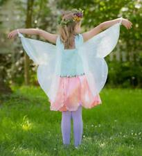 Imagining Me by Magic Cabin Fairy Dress& Wings Peony Sz4/5 Costume Dress $49msrp