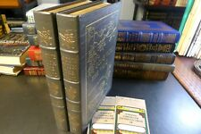 Easton Press GONE WITH THE WIND, Margaret Mitchell, 2 vols.. Literature, Leather