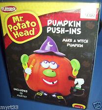 MR POTATO HEAD Halloween PUMPKIN DECORATING Push Ins - WITCH