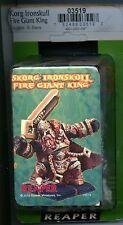 Reaper Dark Heaven Legends Korg Ironskull Fire Giant King MINT #03519 Metal