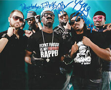 Turquoise Jeep signed autograph Flynt Flossy Yung Humma RARE COA LOOK!