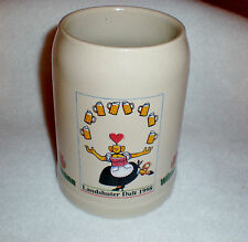 "1998 Wittman Beer Stein/Mug ""Landshuter Dult"" Germany 0,5 liter - New - Rare"