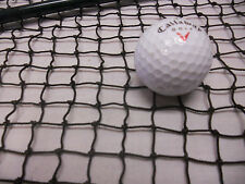 10'x24' BLK HOCKEY-GOLF-IMPACT SPORTS NET/GOAL/BACKSTOP, RECYCLED FISH NET #4254