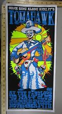2001 Rock Roll Concert Poster Tomahawk Ralphe Walters S/N L/E 200 Cowboy Skull