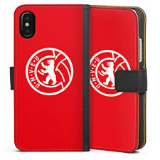 Apple iPhone x bolso funda flip case - 1. fc Union Berlin Baer