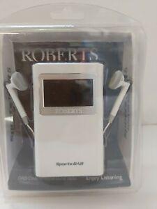 Brand New Boxed Roberts Sports DAB/ FM Portable Radio D15
